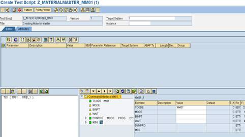 eCAT test script2 SAP eCATT Step by Step Guide