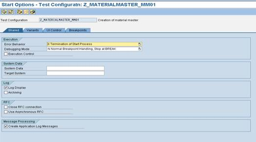 eCATT test configuration6 SAP eCATT Step by Step Guide