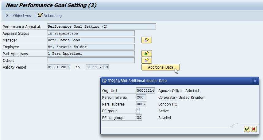 Customized your Appraisal Template with SAP HR – Appraisal Document Template