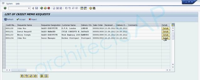 This Credit Memo Request Is Automatically Visible In SAP. Bpm4  Credit Note Request Form