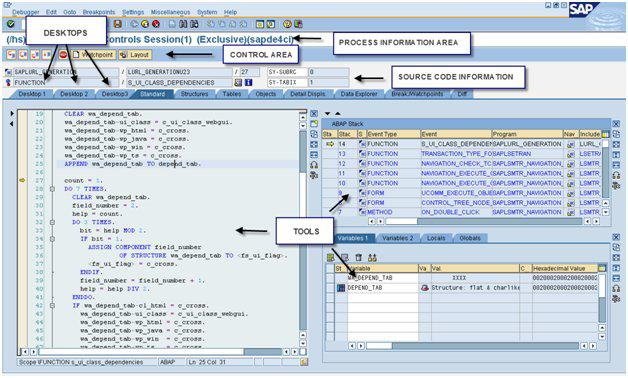 SAP Debugging